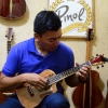 Professional Custom Tenor Ukulele Granadillo Sides and Back Cocobolo Middle by Pinol